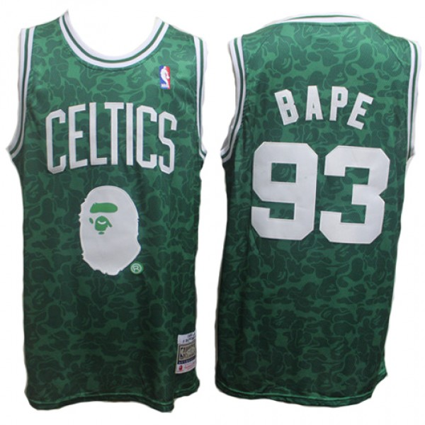 best sneakers 55300 40c48 Cheap Celtics A Bathing Ape ABC Basketball Jersey Bape x ...