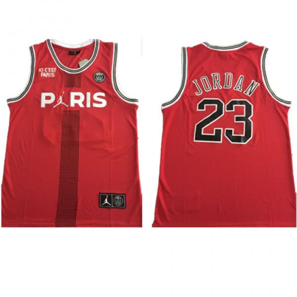 4c147fa3ecf5b8 Cheap Paris Saint-Germain Jordan Flight Knit Red NBA Jersey Joint PSG