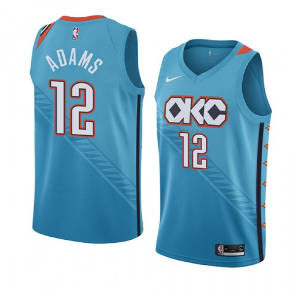 new arrival 6f54d 4cabd Cheap Steven Adams OKC Thunder City Edition Jersey For Sale