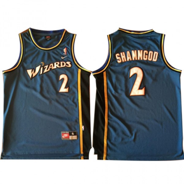 more photos a96e2 6d756 God Shammgod Wizards Throwback NBA Jerseys Cheap For ...