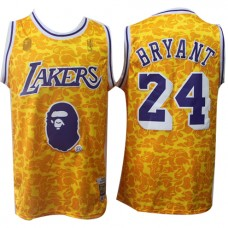 b4821cc74557 Cheap Kobe Bryant LA Lakers NBA Basketball Jersey ... Kobe Bryant LA Lakers NBA  Basketball Jersey Joint BAPE Sale