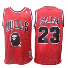 7832d25d3bb1 Cheap Michael Jordan Bulls NBA Basketball Jersey J... Michael Jordan Bulls NBA  Basketball Jersey Joint Bape Sale