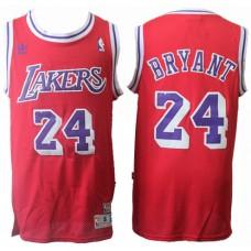 Kobe Bryant Lakers Red Swingman Throwback Jersey C.. e373c14cc